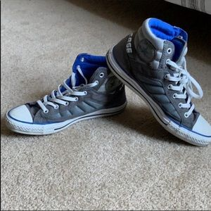 {Converse} Padded High Top Sneakers